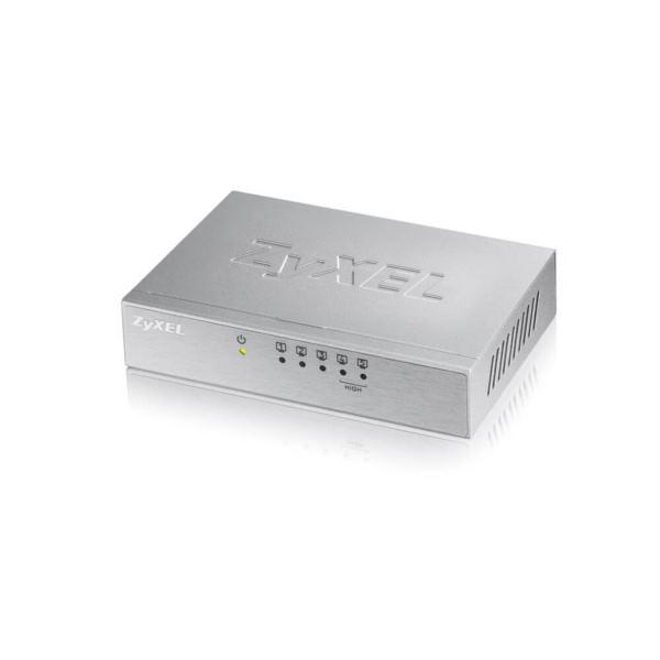 Zyxel 5-Port Desktop Fast Ethernet Switch, Metal housing